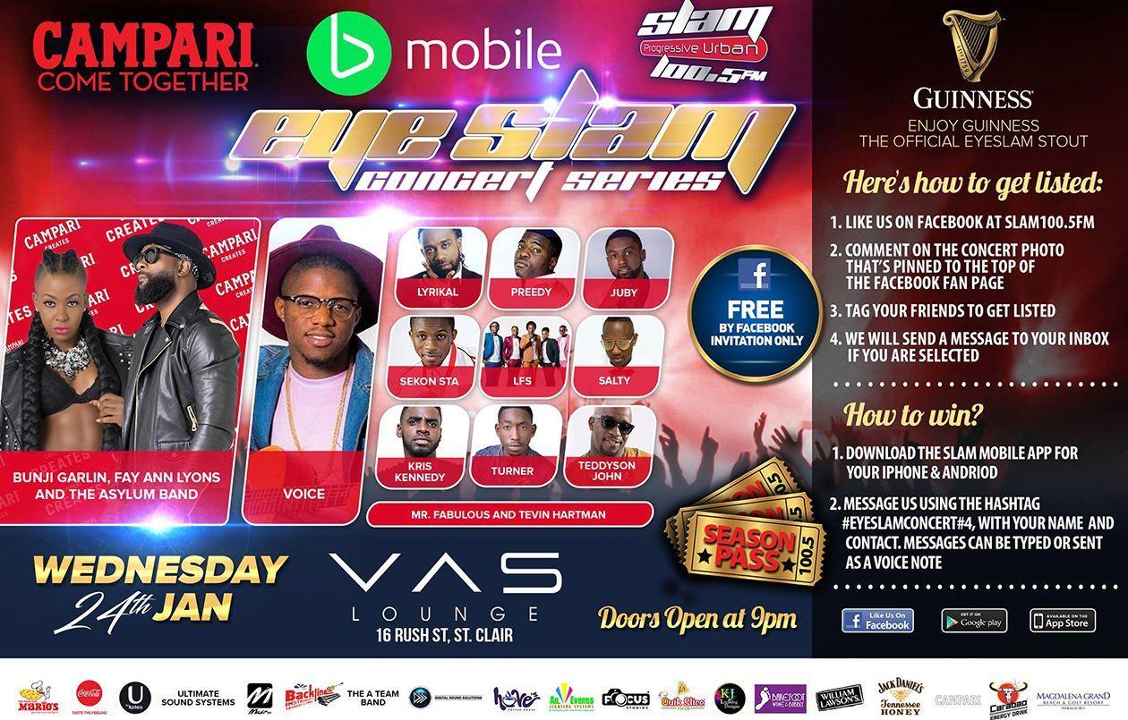 Eye Slam Concert Series 2018: #4