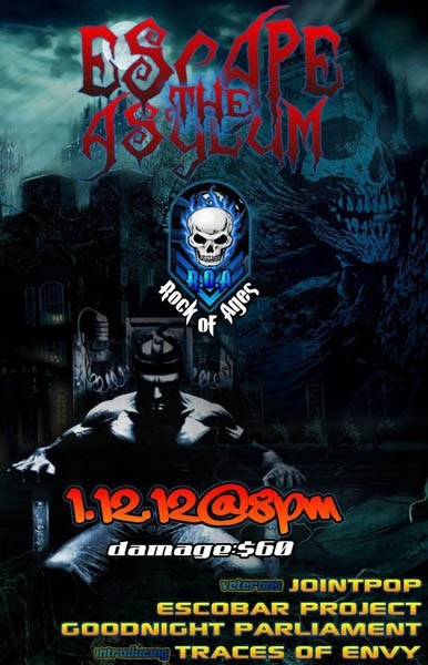 Escape The Asylum: Outdoor Show