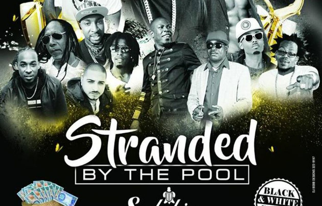 Stranded By The Pool 2018: The Black & White Edition
