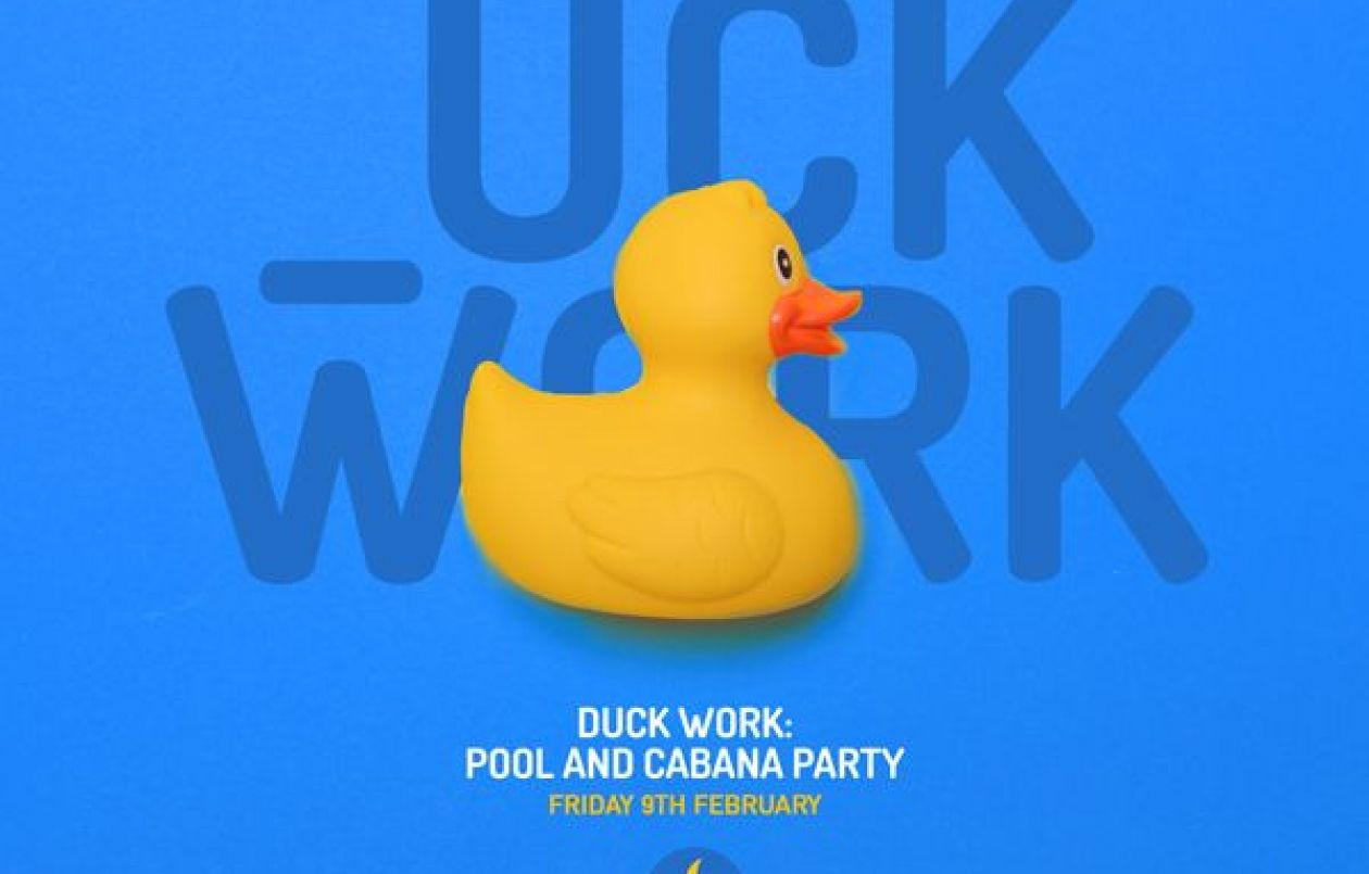 SCORCH Duck Work Pool & Cabana Party 2018