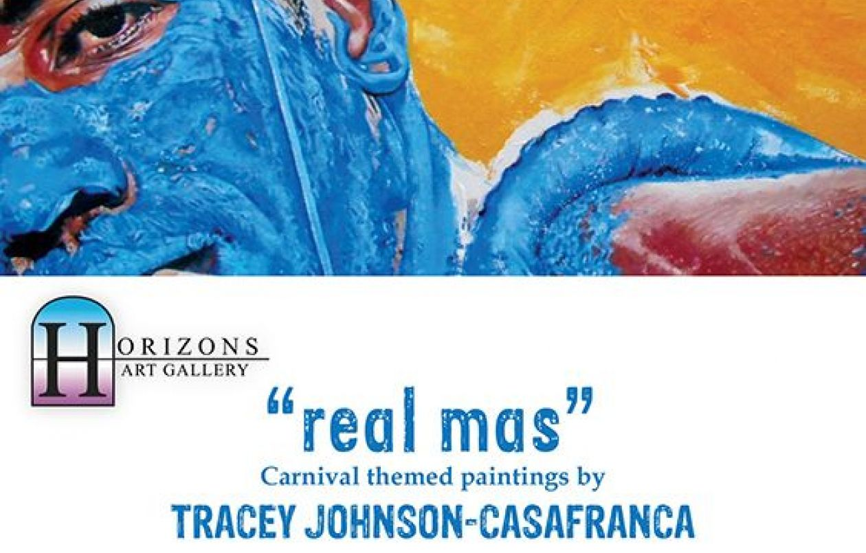 Real Mas: Carnival Themed Paintings by Tracey Johnson-Casafranca