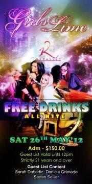 KATALYST FREE DRINKS SATURDAY NIGHT VIBE!!