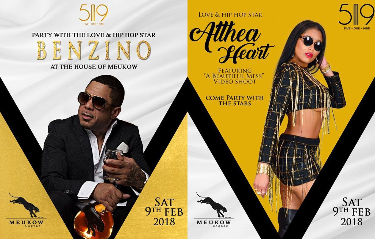 Party with Love & Hip-Hop 'Benzino & Althea Heart'