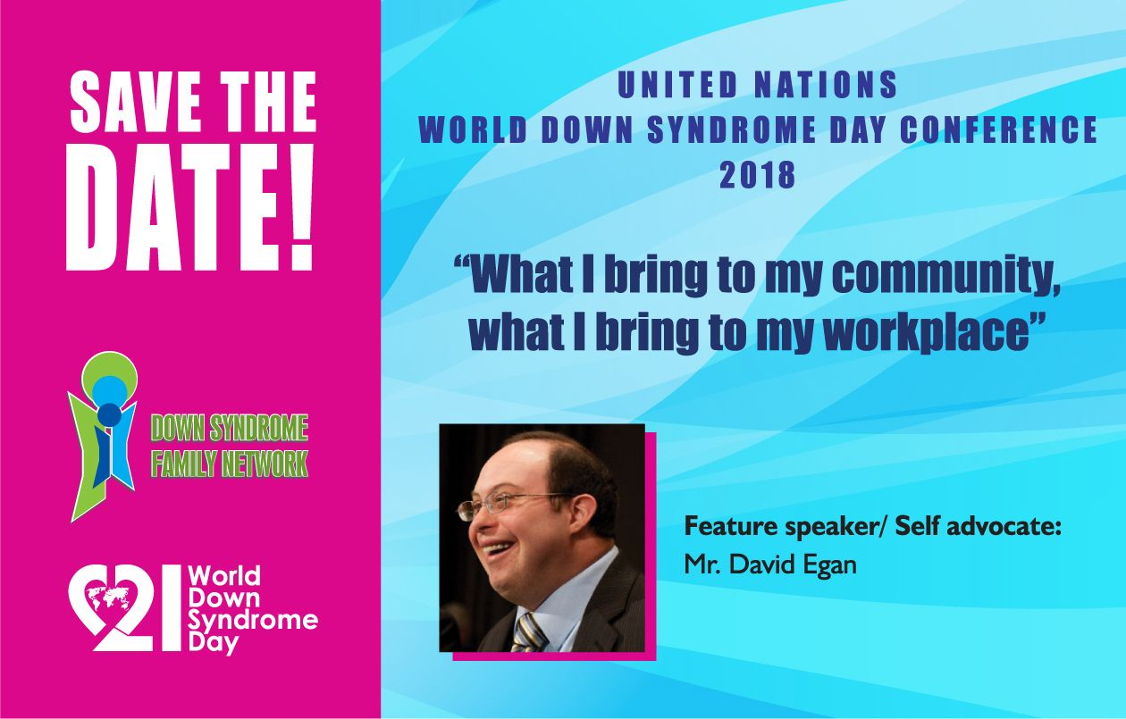 DSFN 2018 World Down Syndrome Day Conference