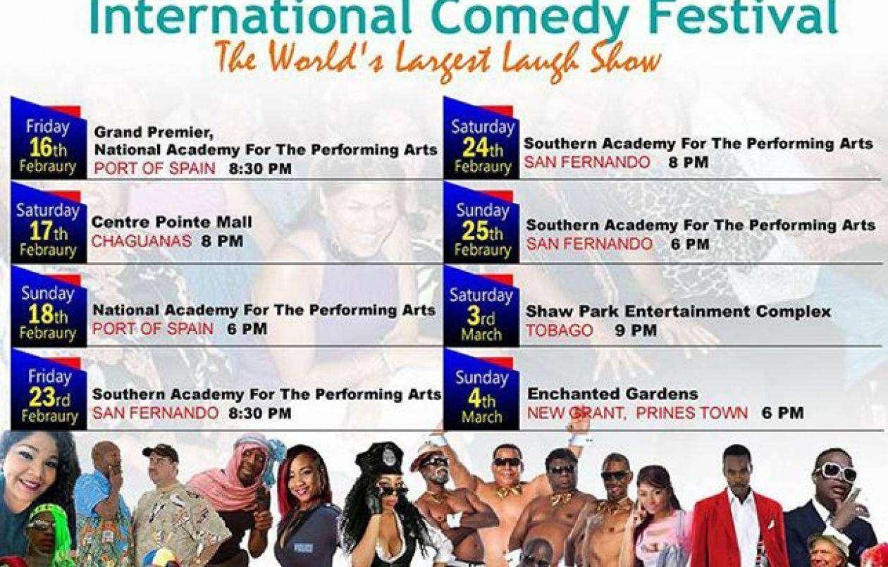 Alternative International Comedy Festival 2018: Tobago