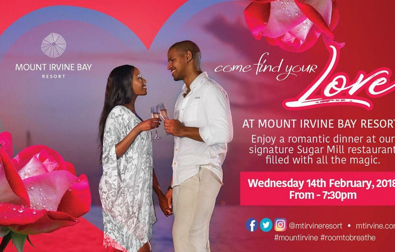 Mount Irvine Bay Resort Valentine's Day Dinner 2018
