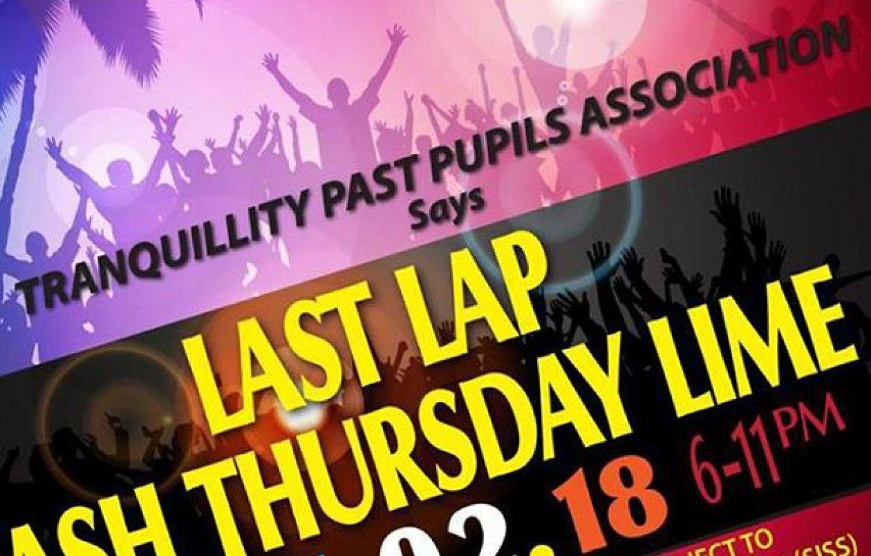 Las Lap Ash Thursday Lime 2018