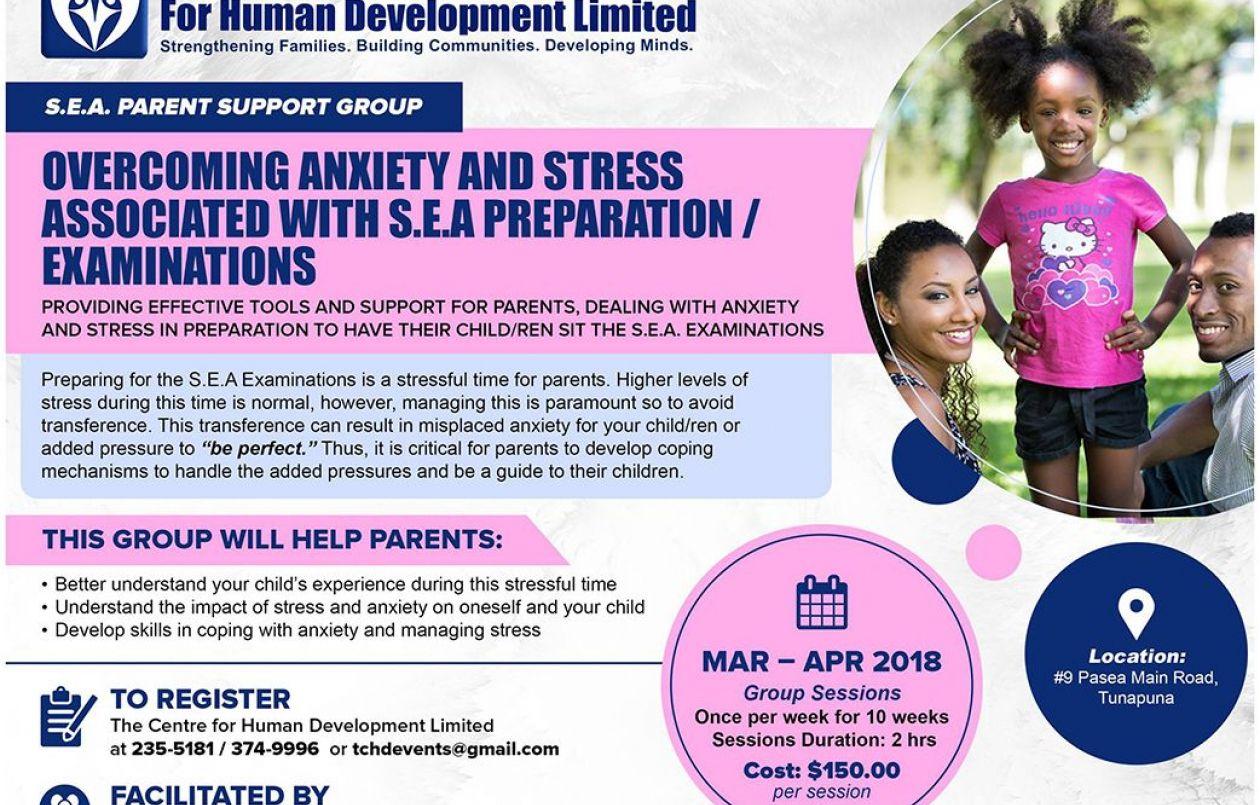 S.E.A Parent Support Group 2018