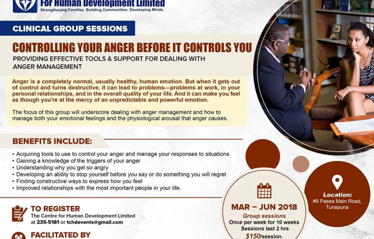 Controlling Your Anger Before it Controls You 2018