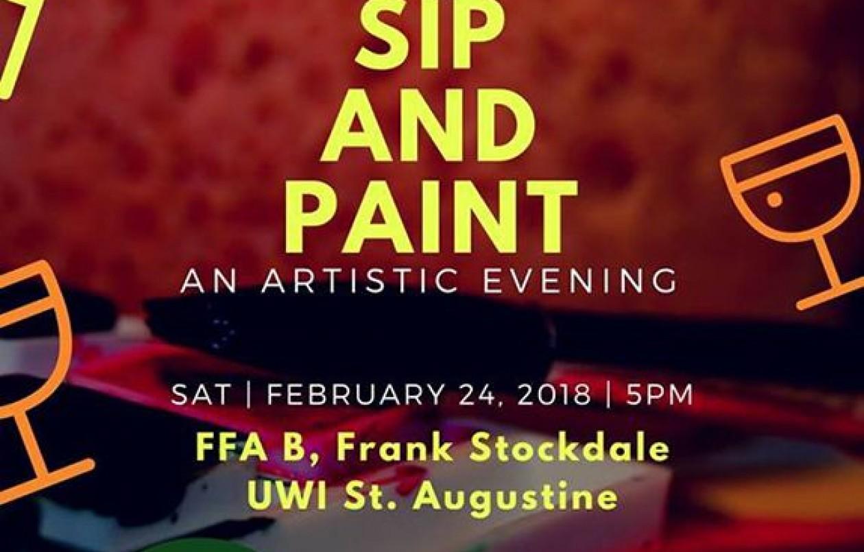Sip & Paint: An Artistic Evening