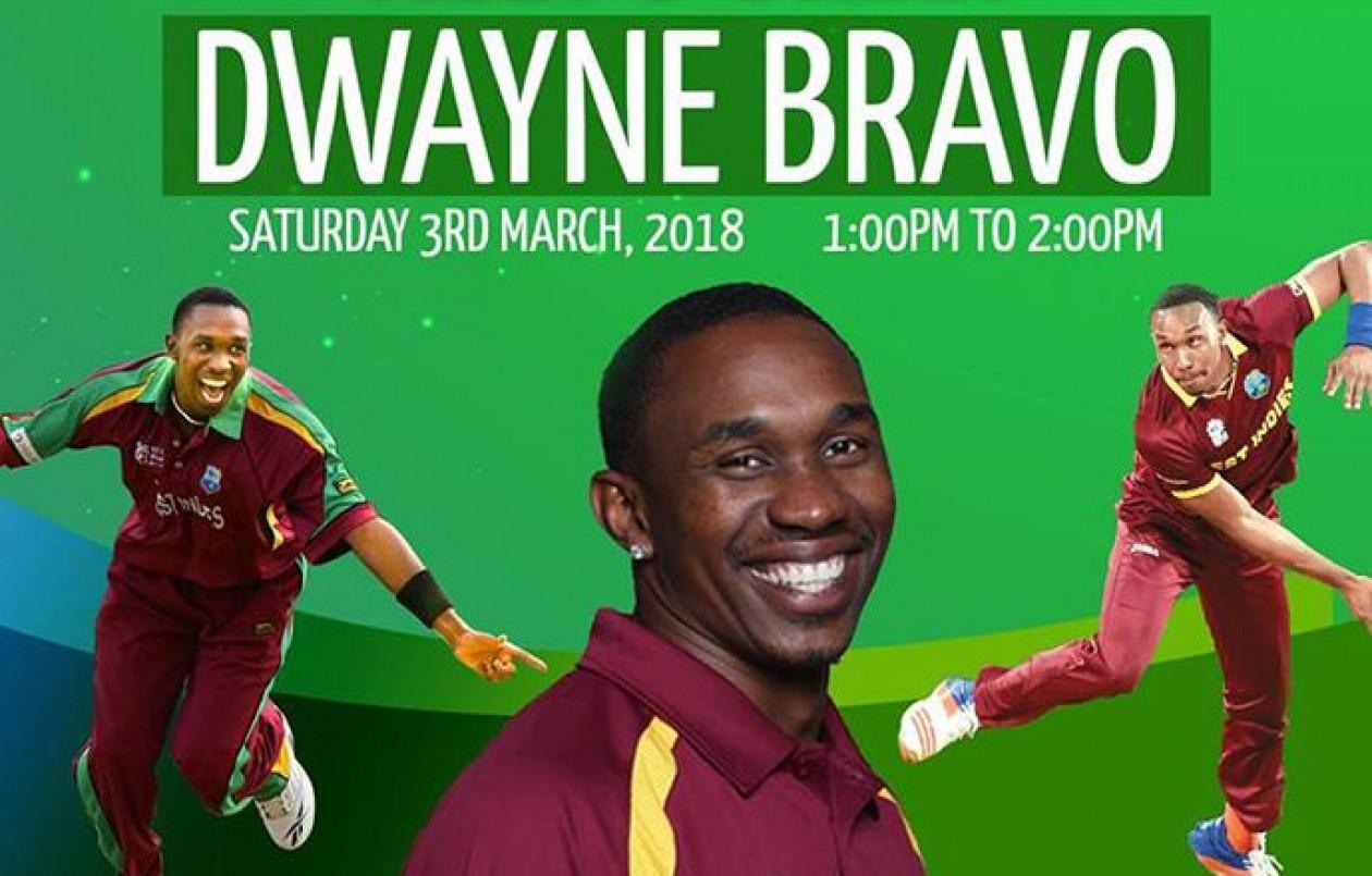 Meet & Greet Dwayne Bravo at Five Islands