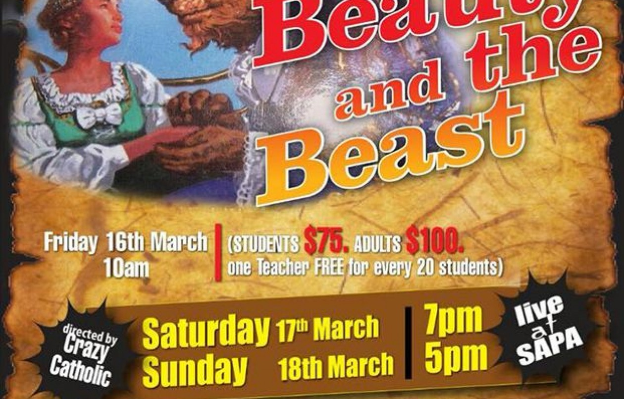 Beauty and the Beast at SAPA: 16-18.3.18