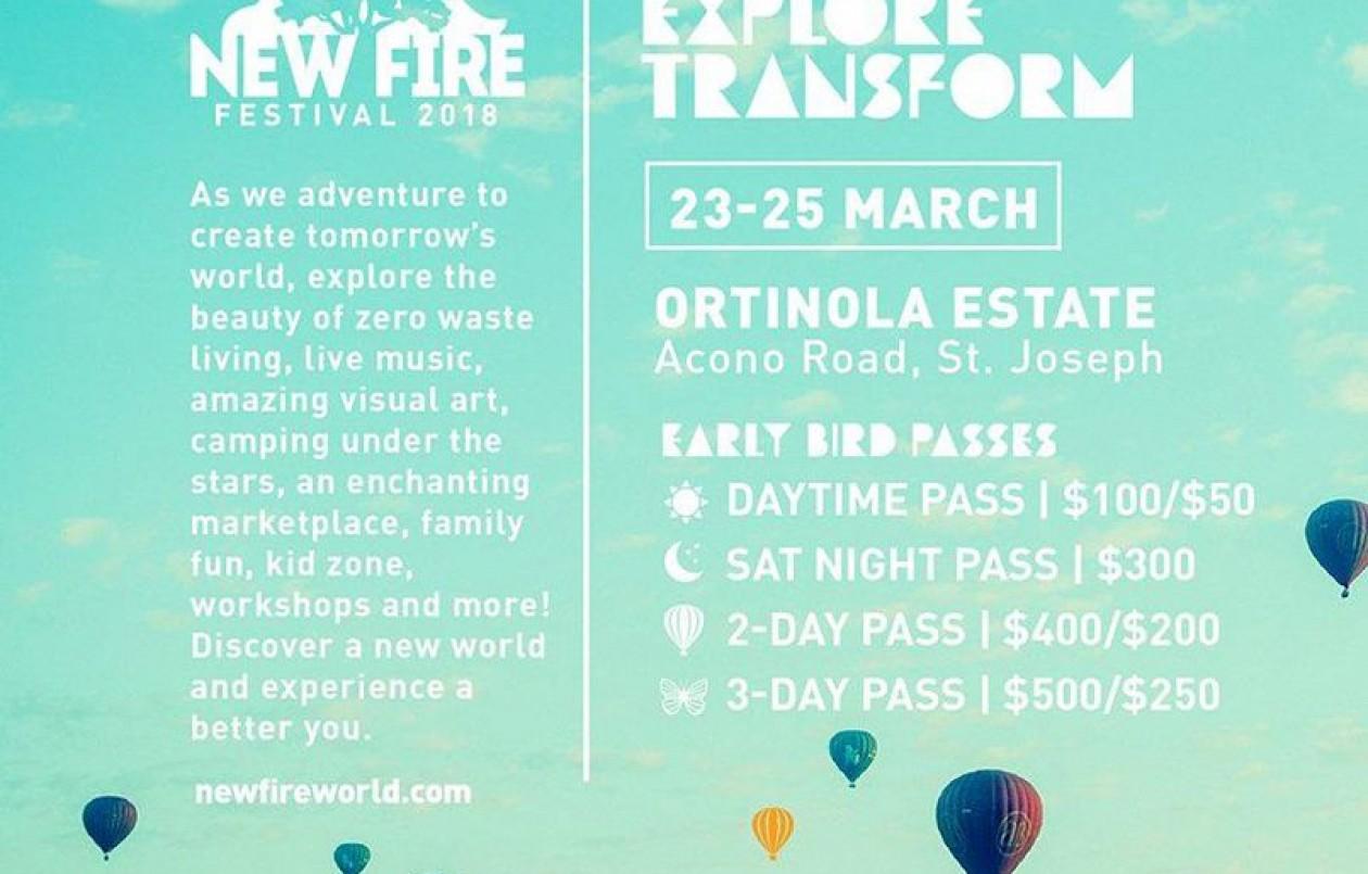 NEW FIRE Festival 2018