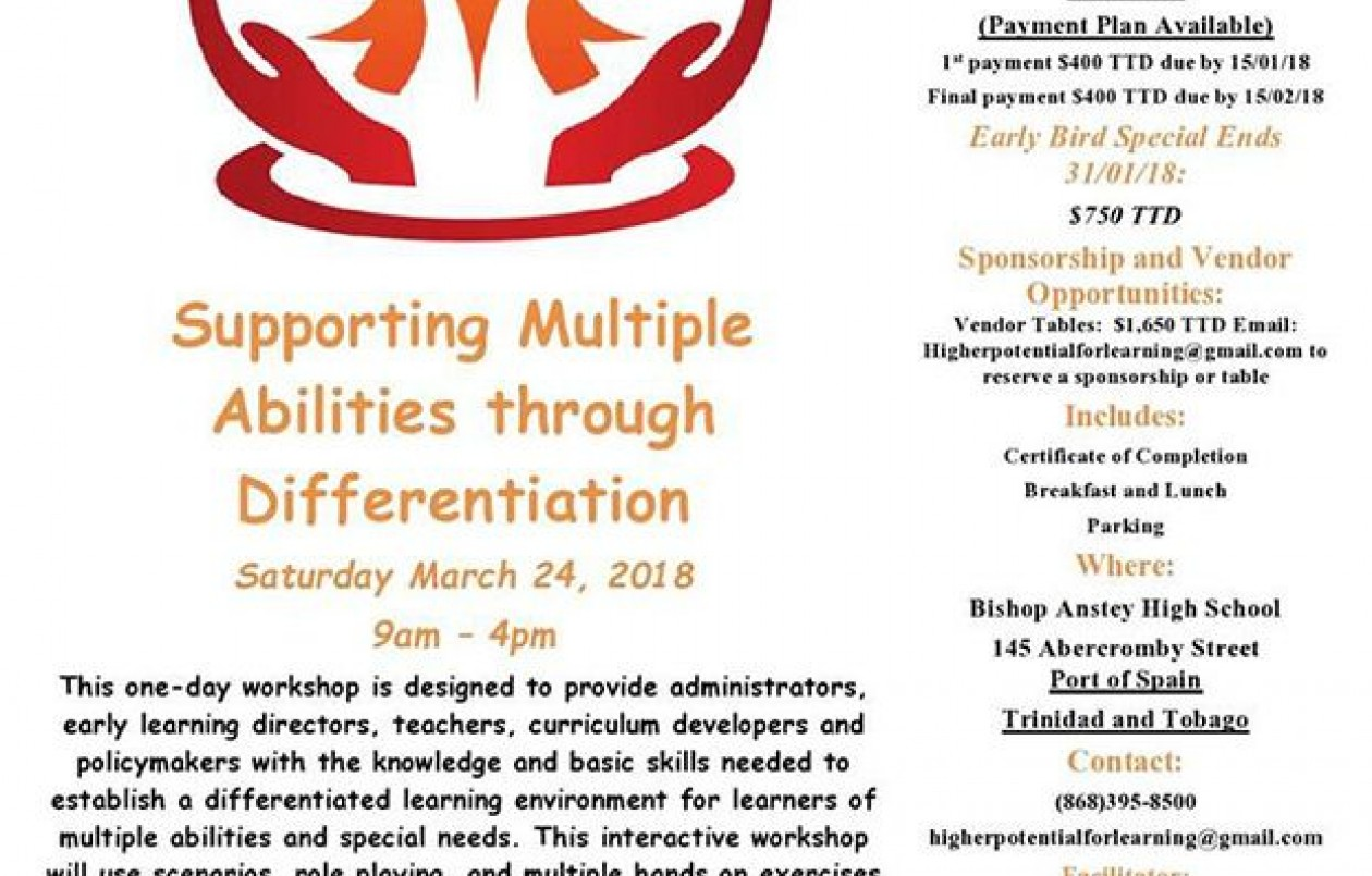 Supporting Multiple Abilities through Differentiation