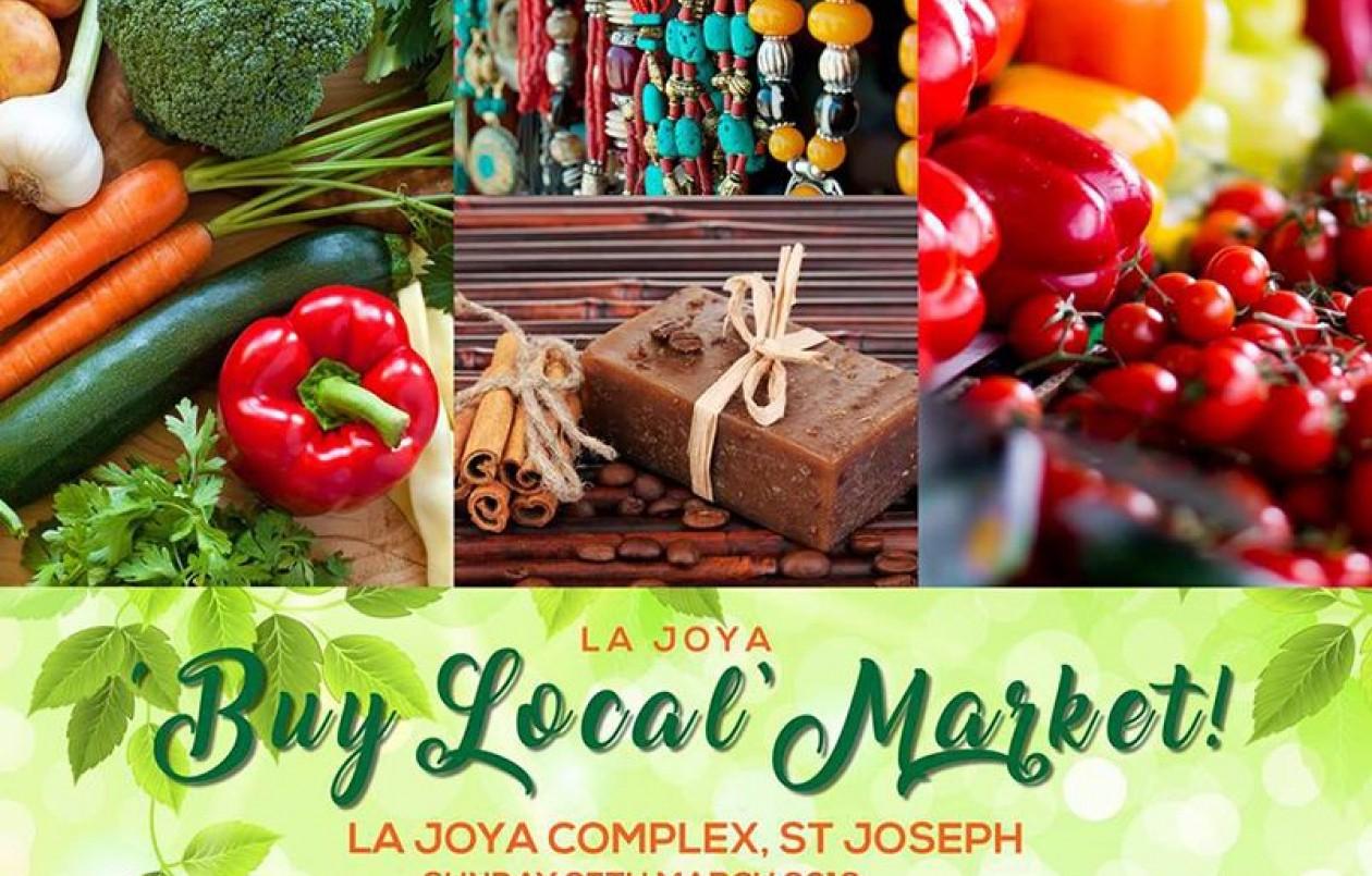 La Joya 'Buy Local' Market - 25.3.18