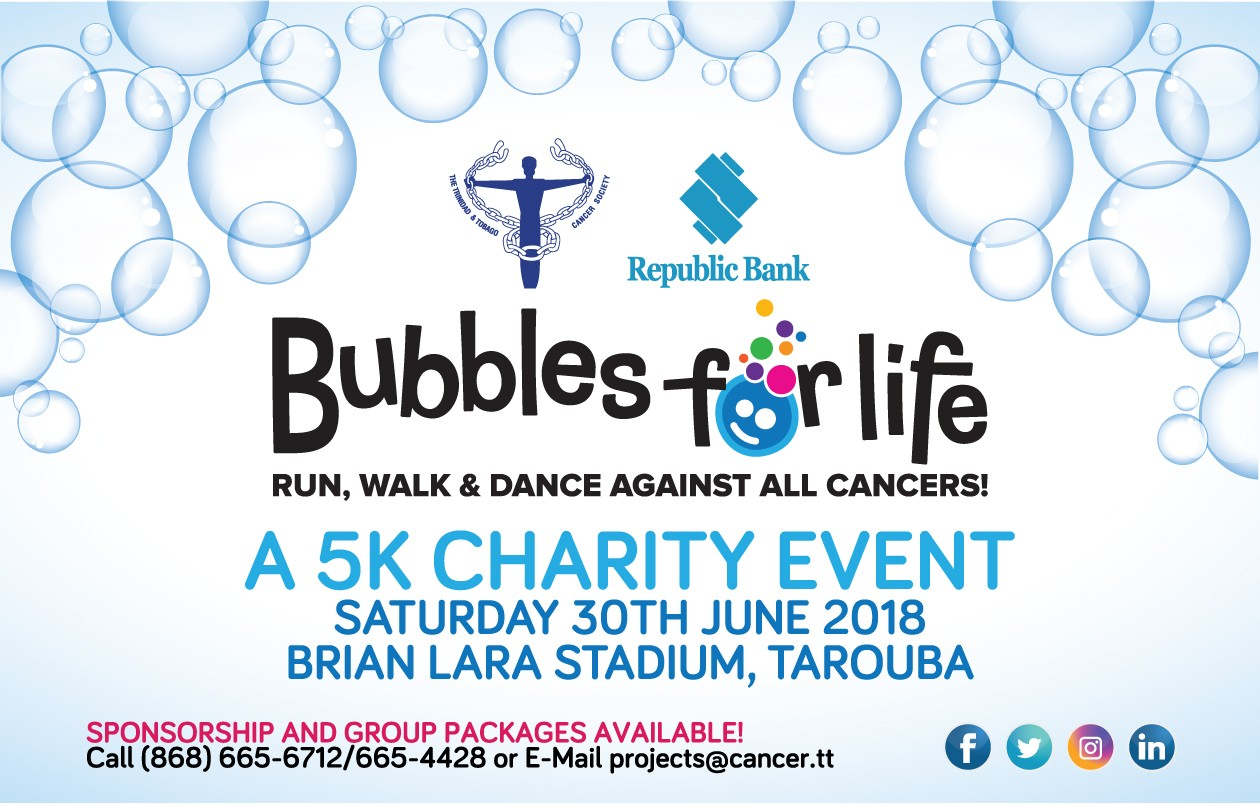 Bubbles for Life - Run, Walk & Dance Against All Cancers!