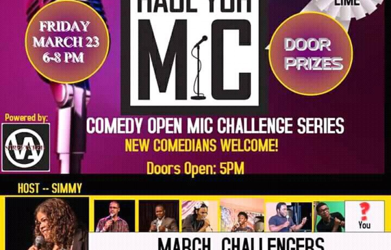HYMC - Haul Yuh Mic Comedy Series - 23.3.18