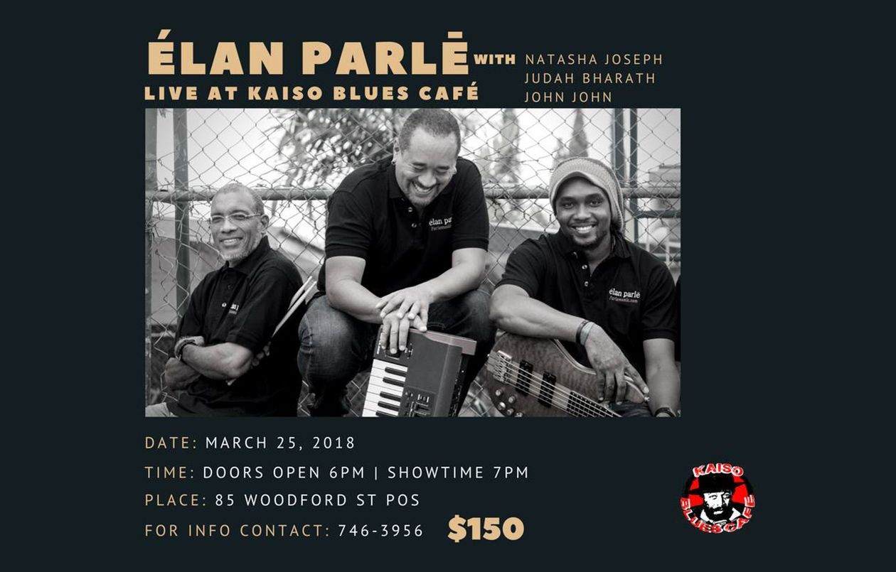 Elan Parle Live at Kaiso Blues Cafe - 25.3.18