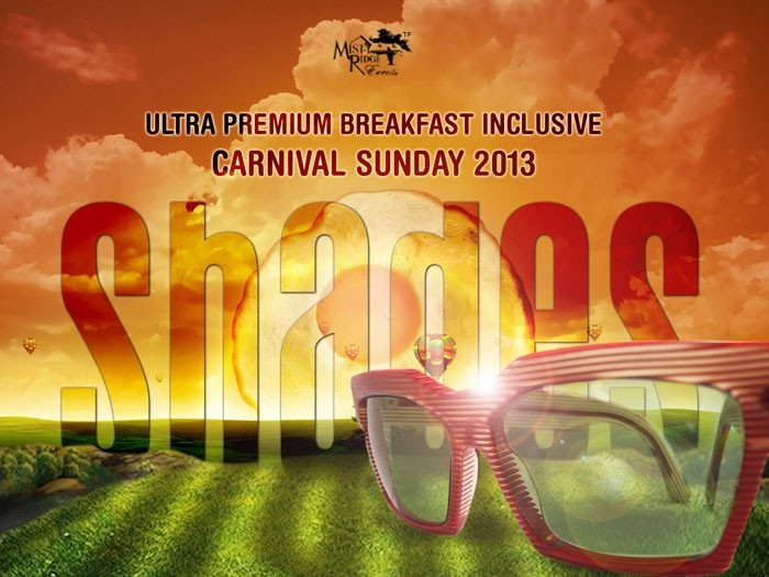 SHADES Ultra Premium Carnival 2013 Breakfast Party