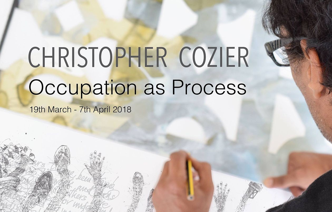 Christopher Cozier . Occupation as Process .