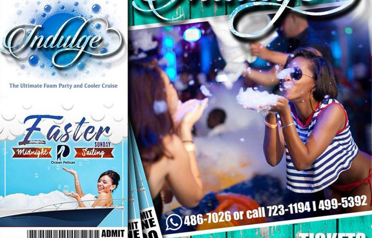 Indulge The Ultimate Foam Party and Cooler Cruise