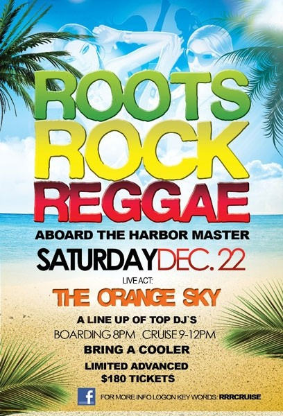 Roots, Rock, Reggae Cooler Cruise