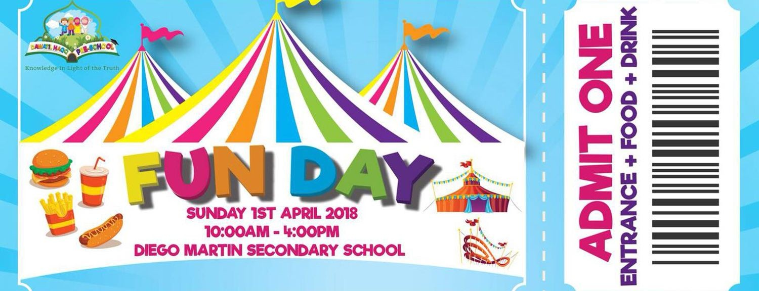 Dawatil Haqq Preschool Fun Day Fundraiser Id 23399