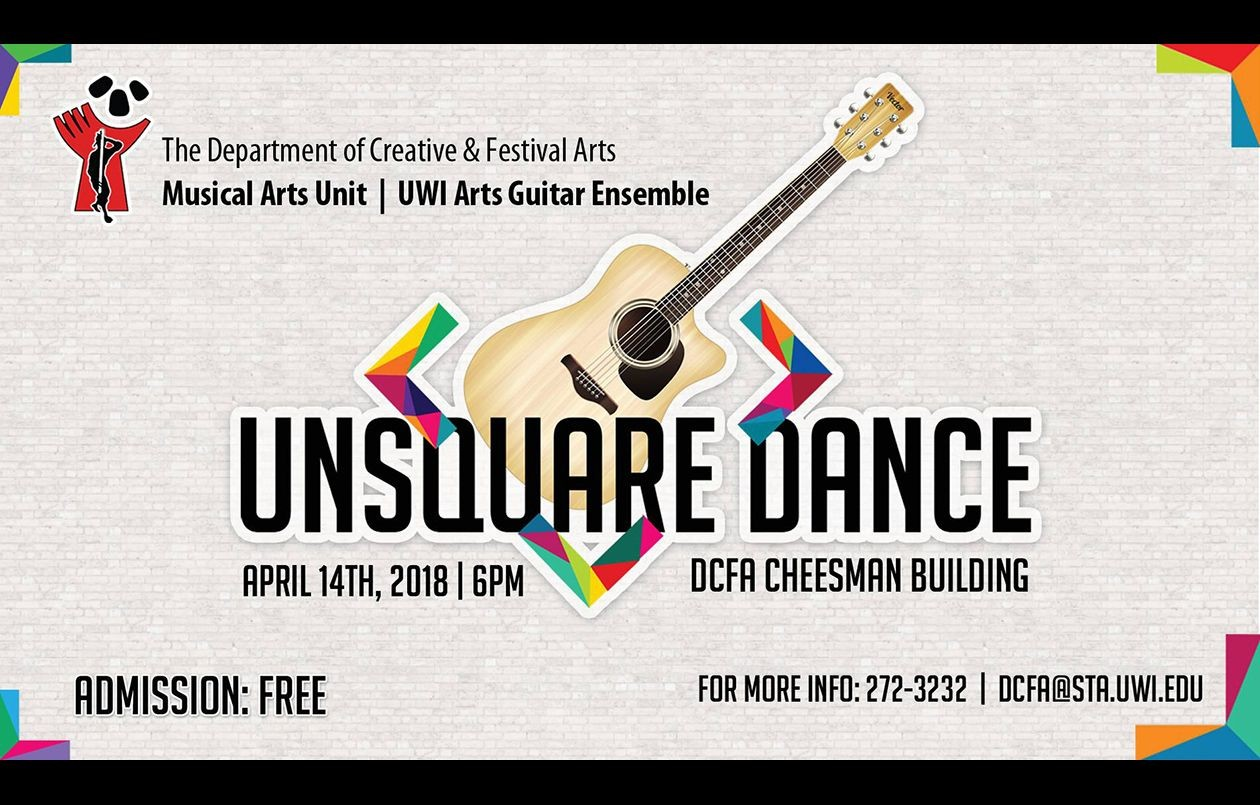 UWI Arts Guitar Ensemble  Unsquare Dance