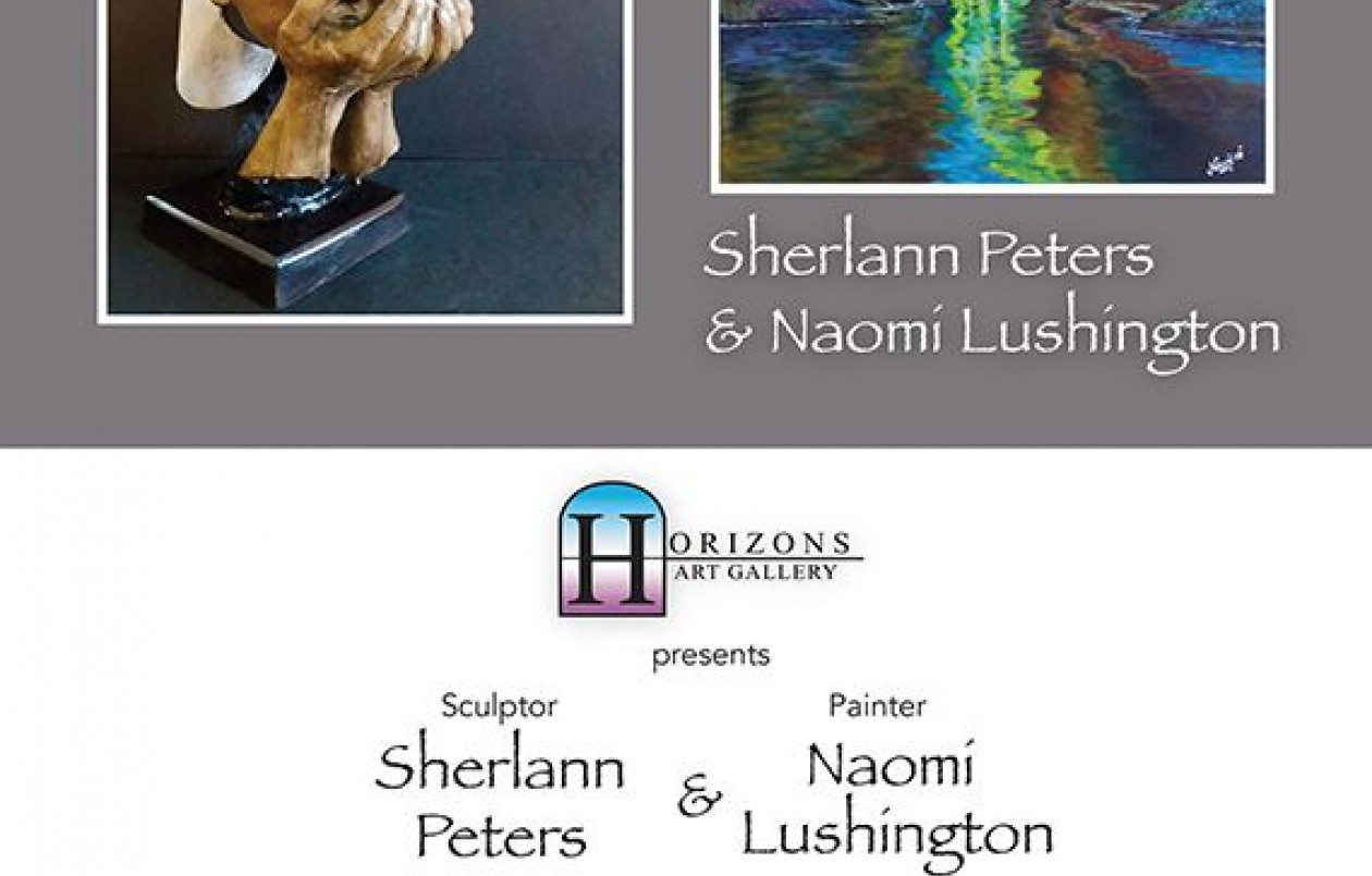 Sherlann Peters & Naomi Lushington at Horizons