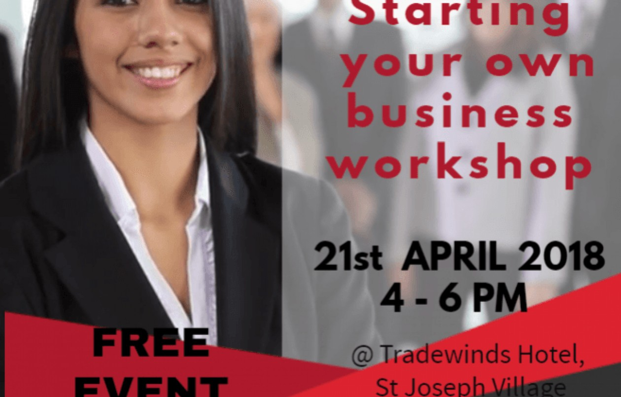How To Start Your Own Business Guide Workshop
