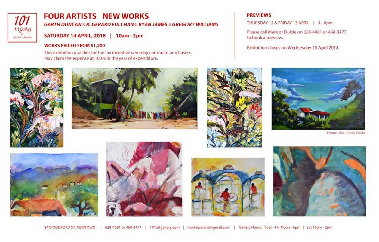 Four Artists: New Works