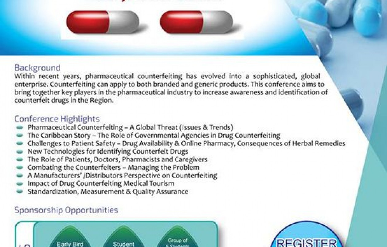 Pharmaceutical Counterfeiting Conference 2018