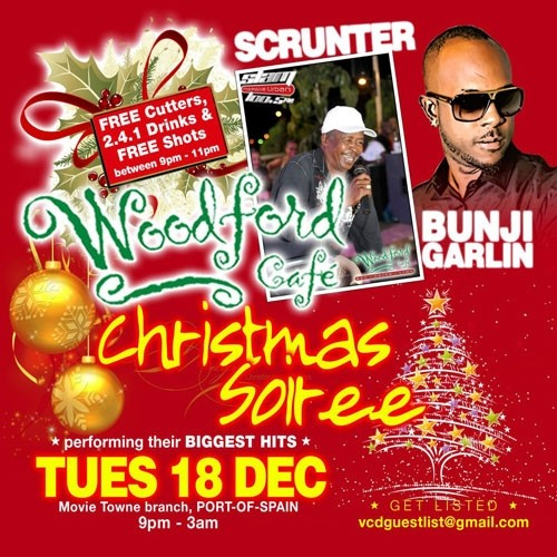 Unplugged Tuesdays! Christmas Soiree with Bunji & Scrunter