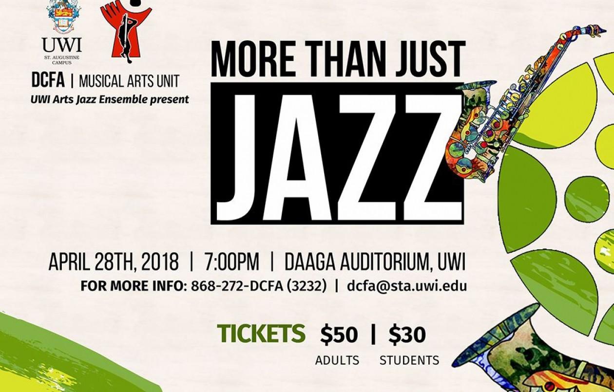 UWI Arts Jazz - More Than Just Jazz 2018