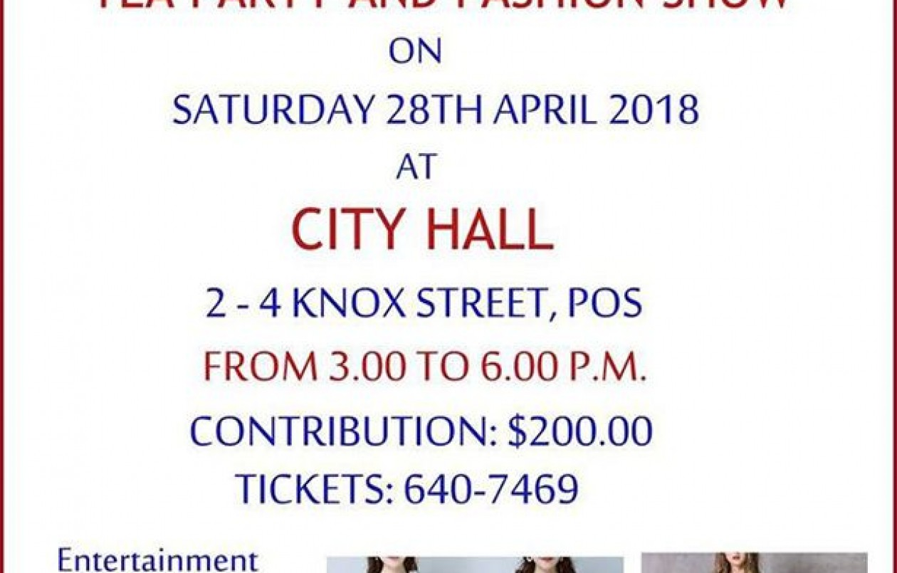 Barbados One Caribbean Love Tea Party and Fashion Show