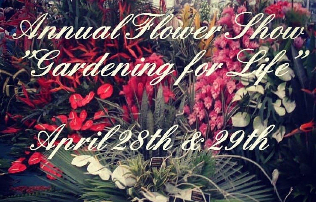 Horticultural Society of Trinidad & Tobago Flower Show 2018
