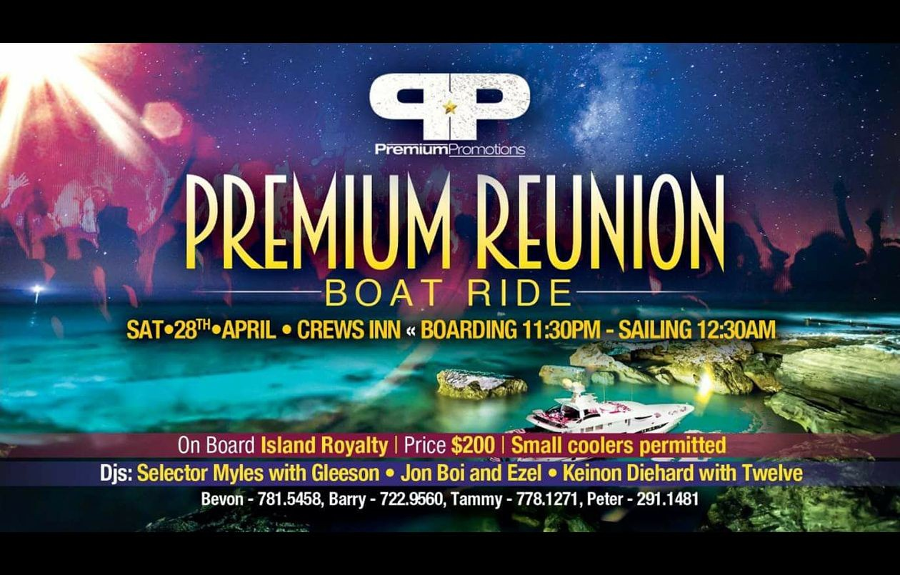 PREMIUM REUNION BOAT RIDE