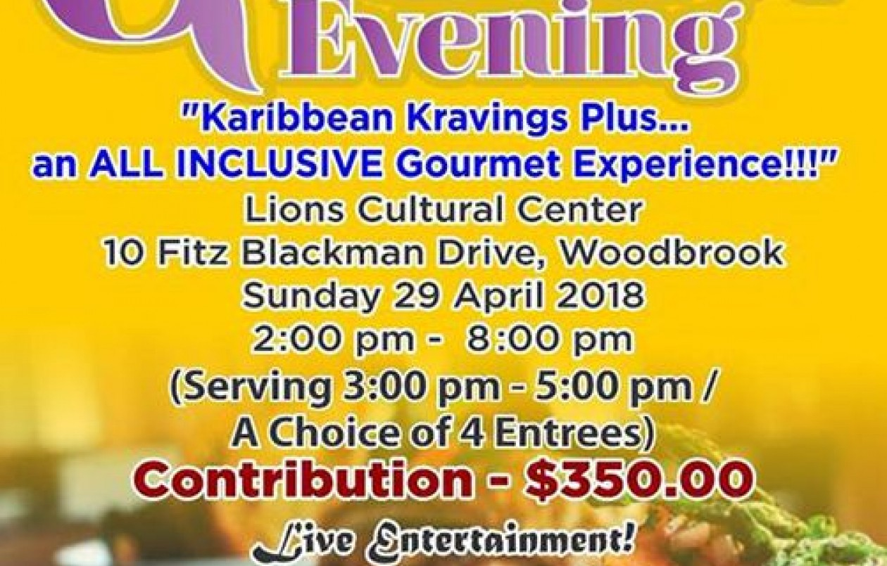 Karibbean Kravings Plus: An All Inclusive Gourmet Experience