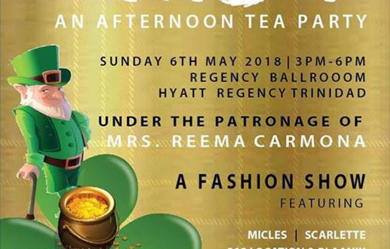 A Pot of Luck: An Afternoon Tea Party - Irish Style