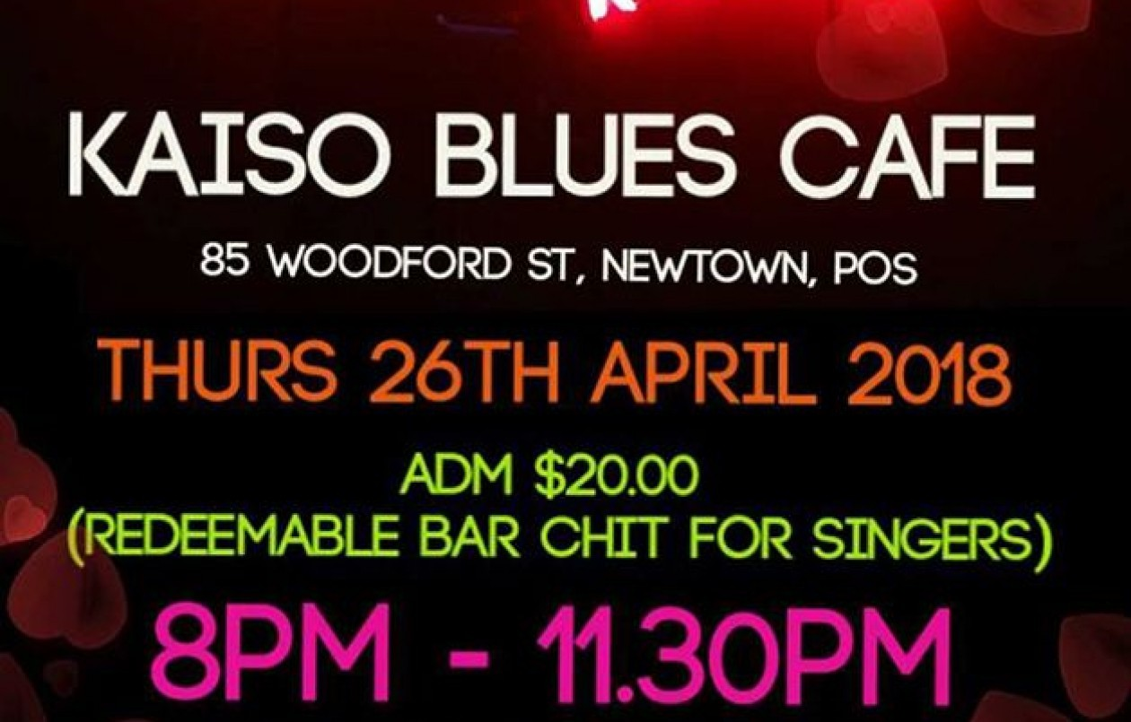 Karaoke Night at Kaiso Blues Cafe - 26.4.18