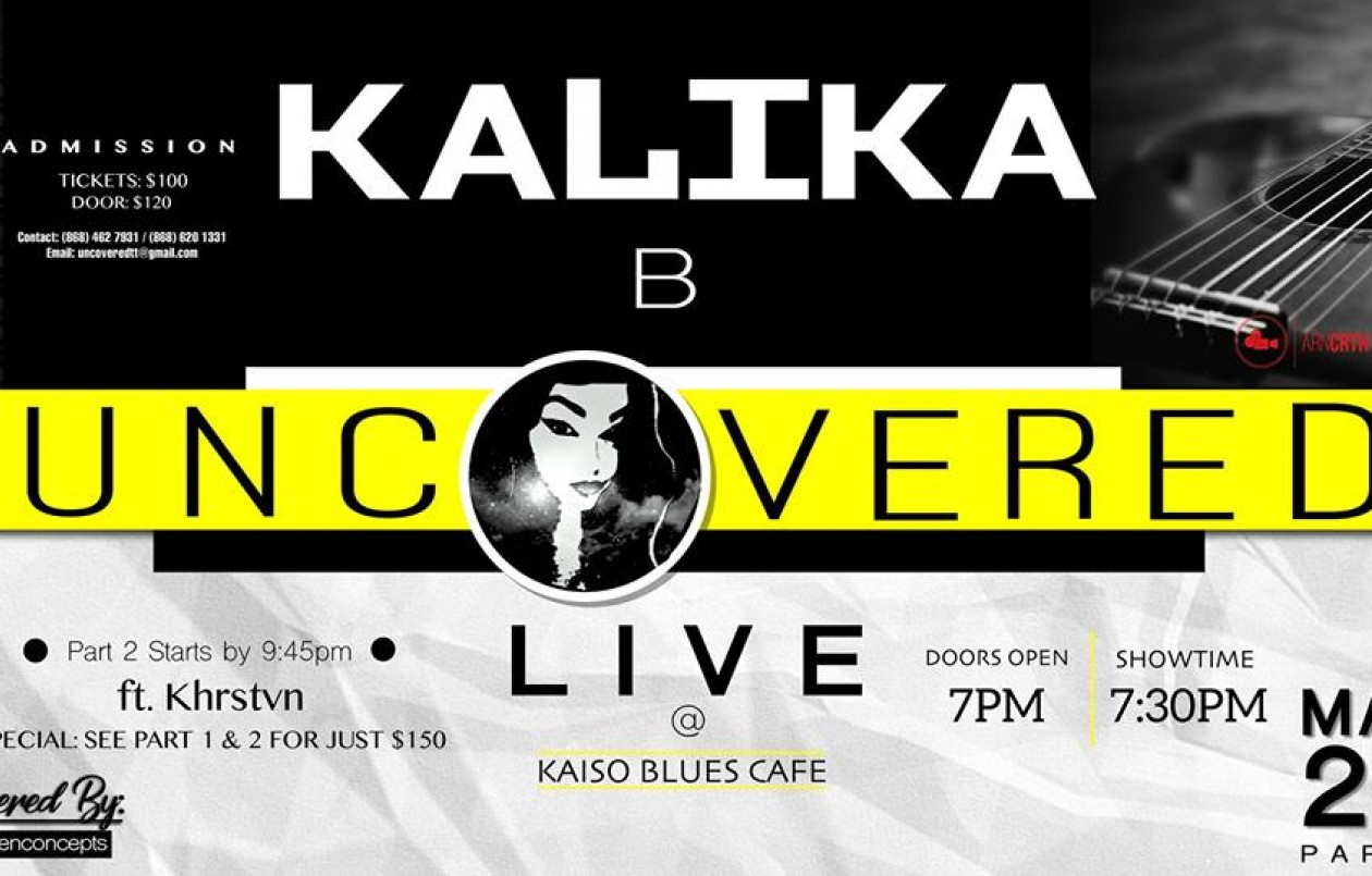 Kalika B Uncovered - Live Series Show #3 Part 1