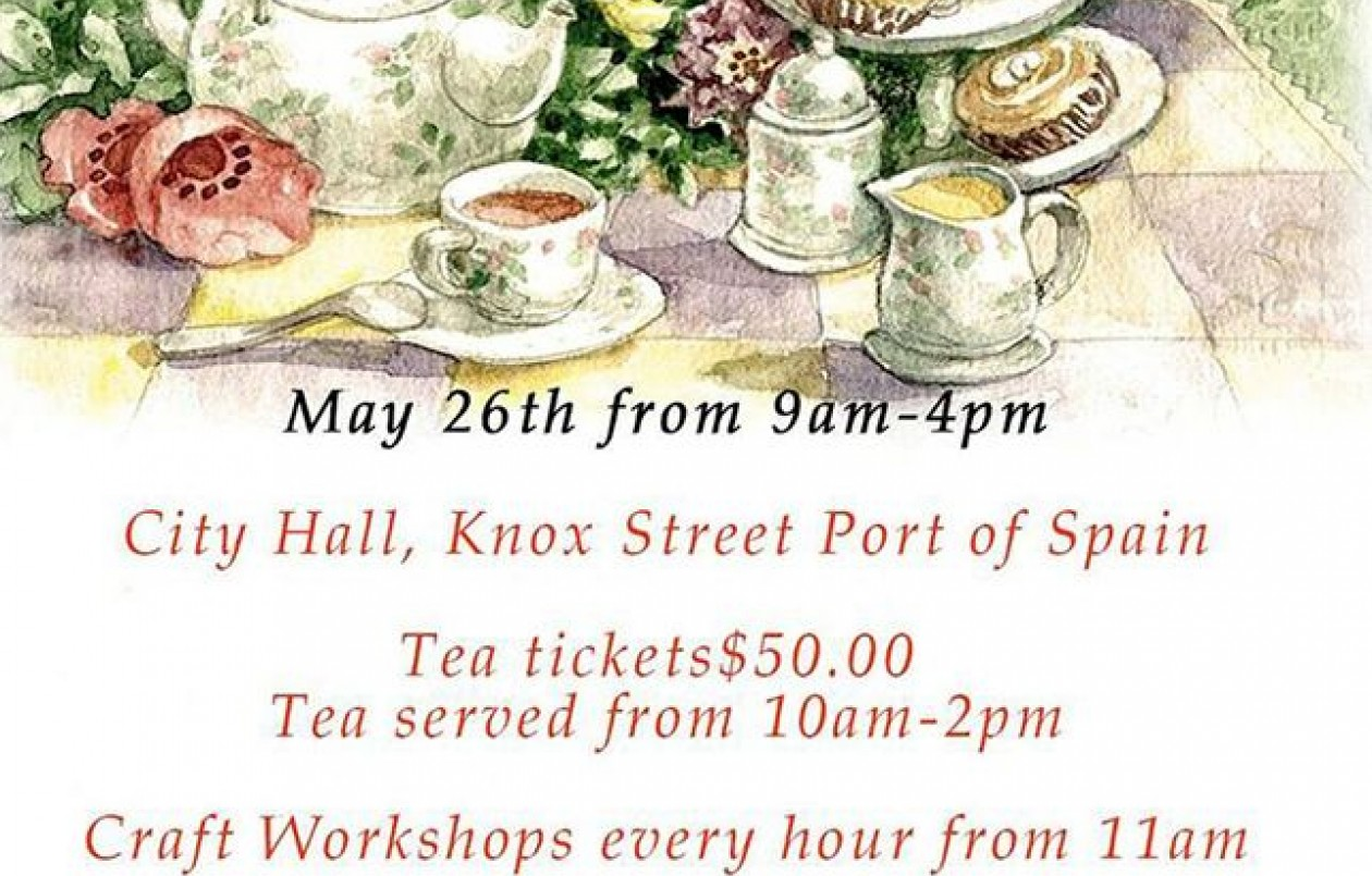 Mother's May Market 2018. A Craft And Tea Affair.