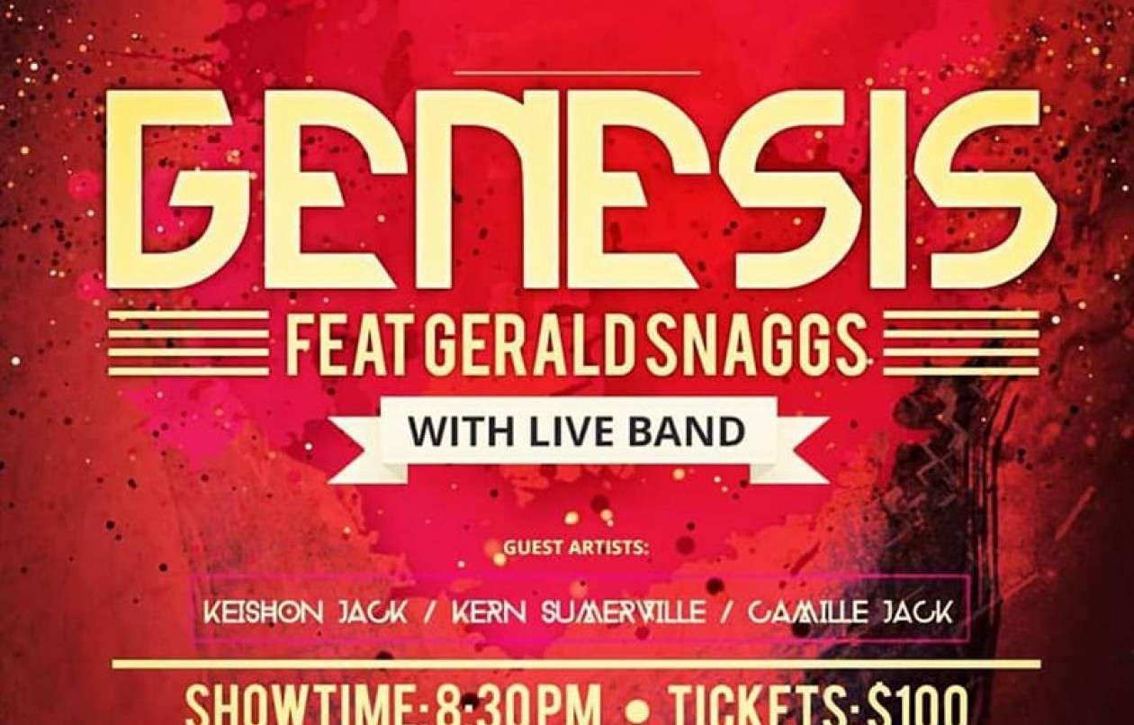 GENESIS Featuring Gerald Snaggs With Live Band