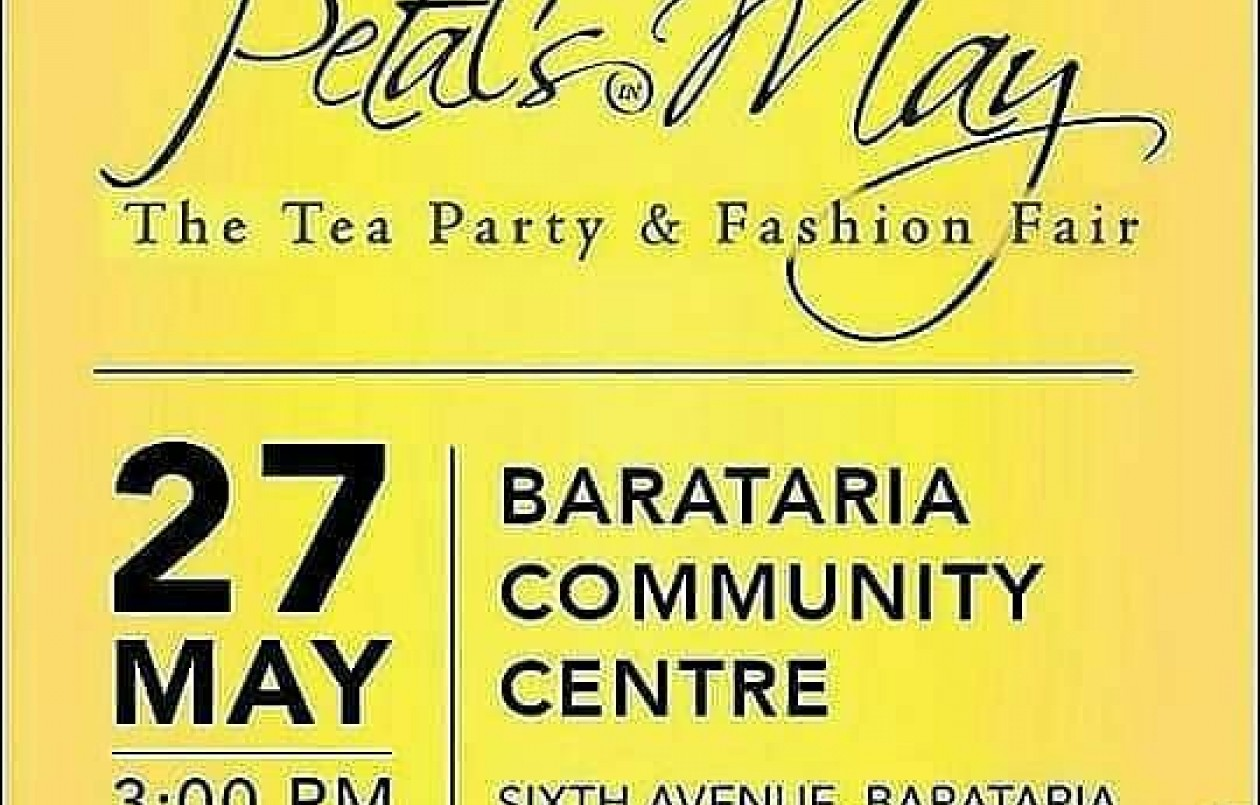 Petal's in May: The Tea Party and Fashion Fair