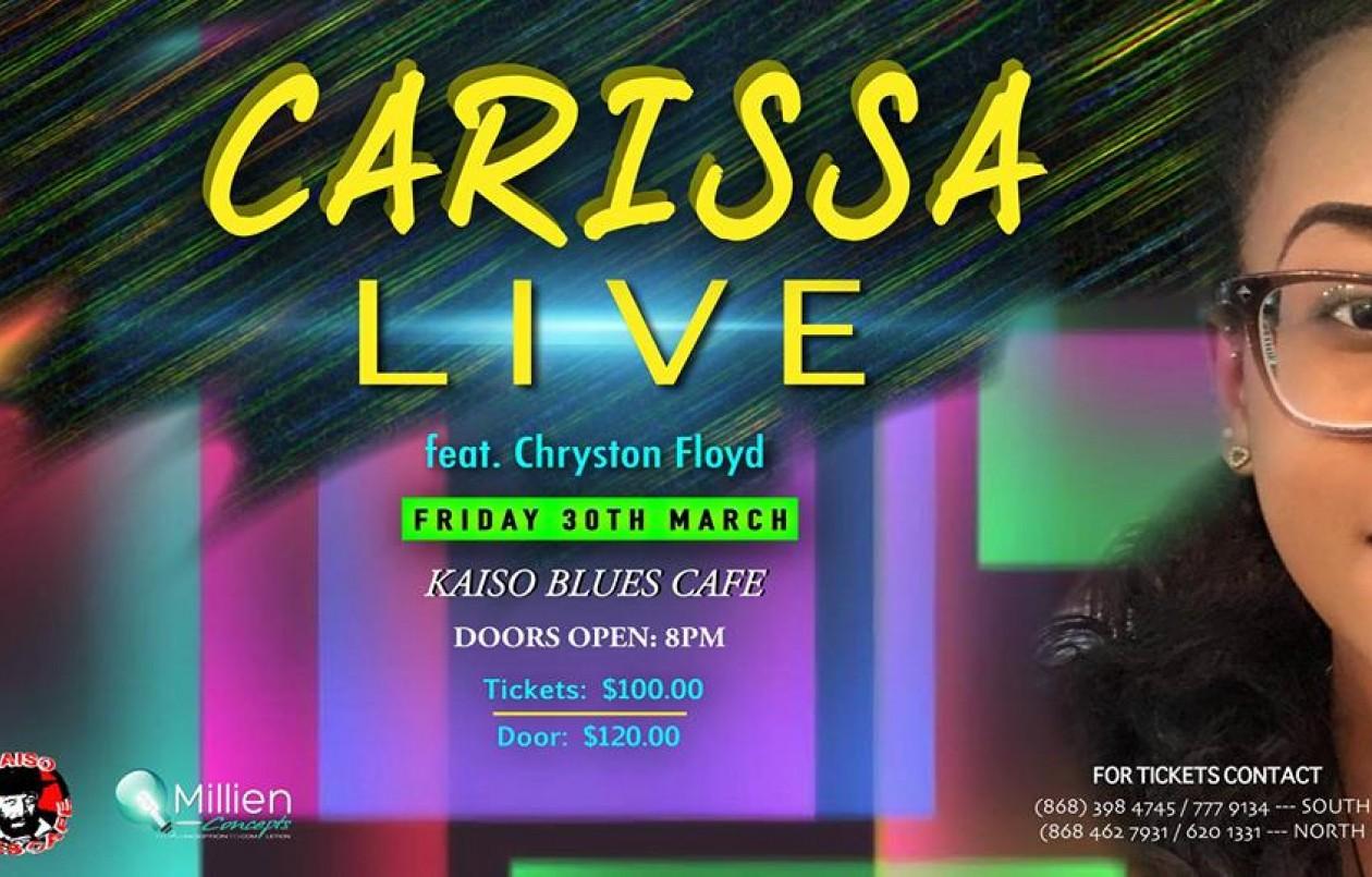 Carissa Floyd LIVE!