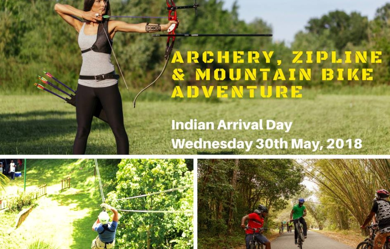 Archery, Zipline and Mountain Bike Adventure 5