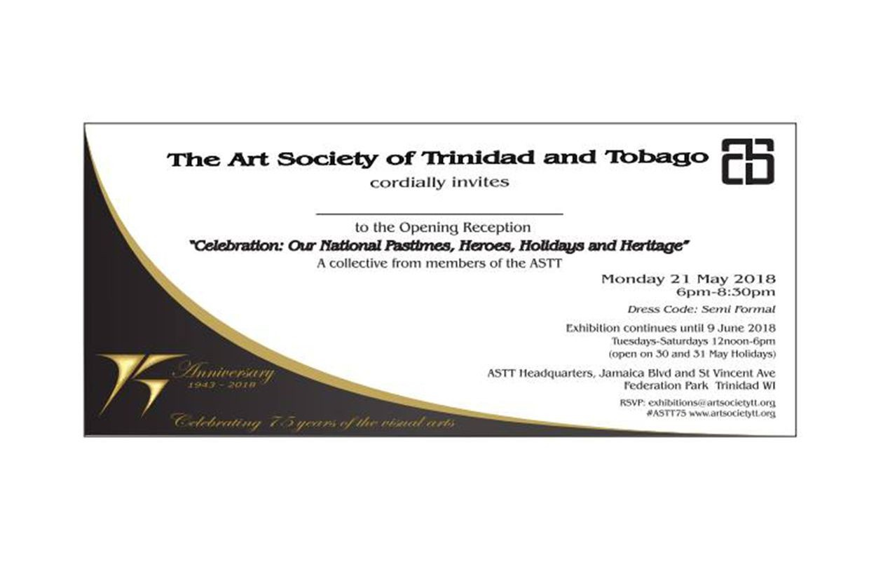 Art Society of T&T 75th Anniversary Members' Group Exhibition