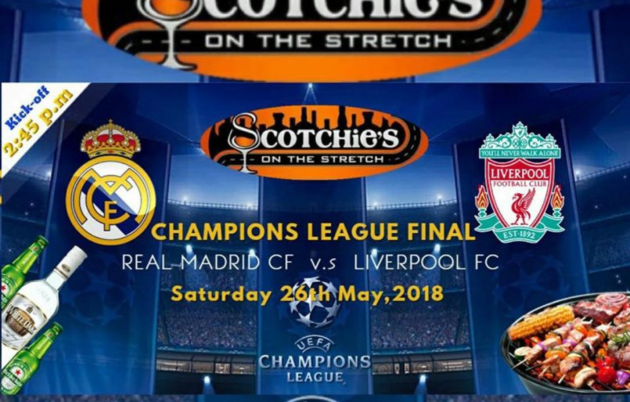 Champions League 2018 FINALS Viewing Party