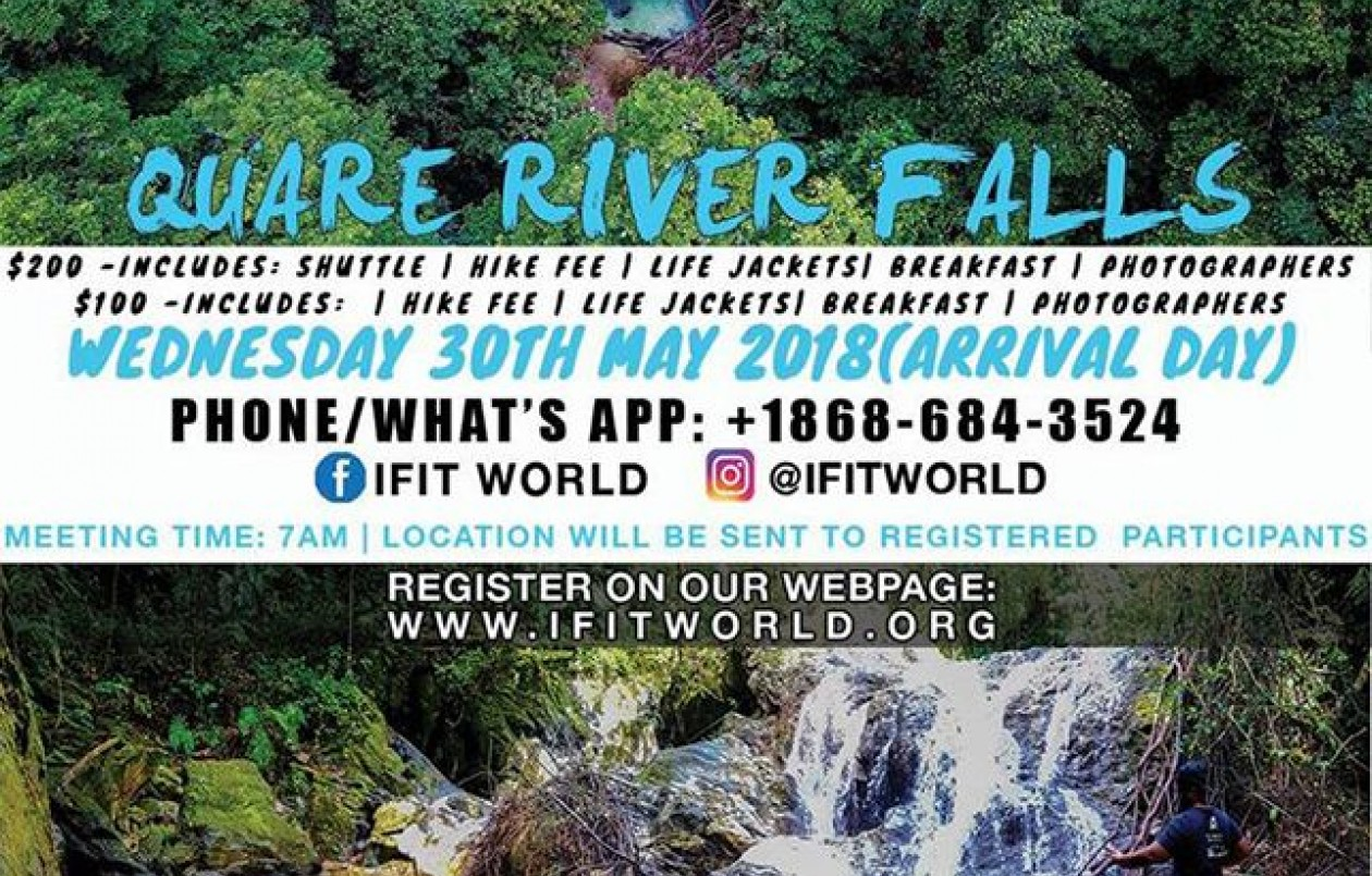 Quare River Falls Adventure @iFitWorld