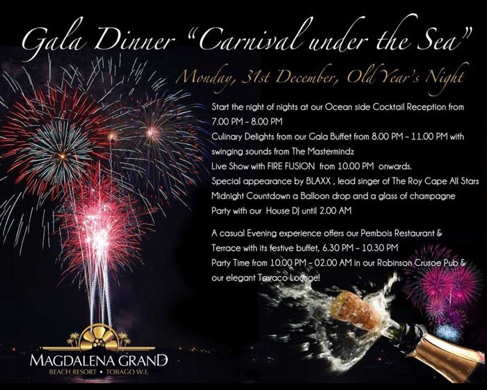 Magdalena Grand Beach Resort's Carnival Under The Sea Gala Dinner